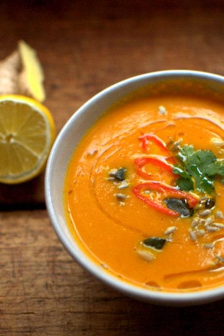 Karotten-Ingwer-Suppe | FREE MINDED FOLKS