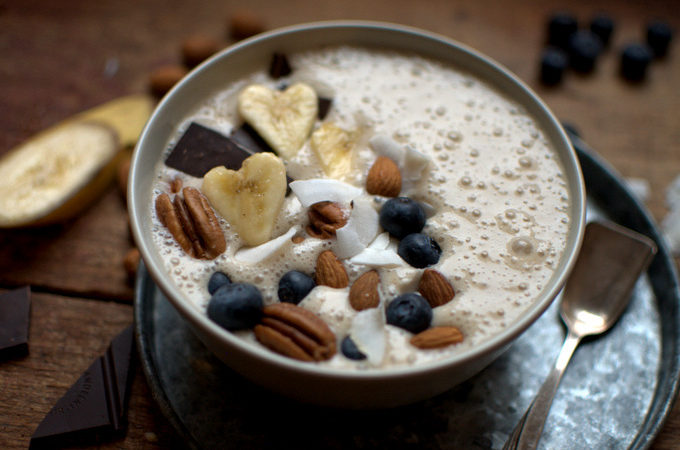 Sweets // Banana-Smoothie-Bowl zu Valentinstag