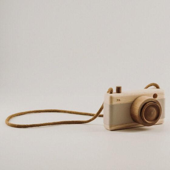 Holzspielzeug Kamera
