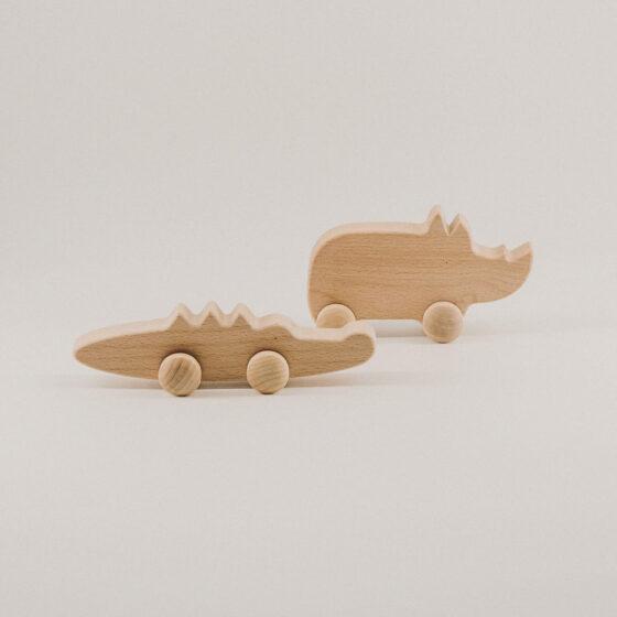 Holzspielzeug Krokodil