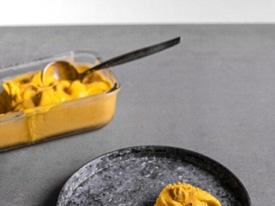 Aprikosen Sorbet selber machen | FREE MINDED FOLKS