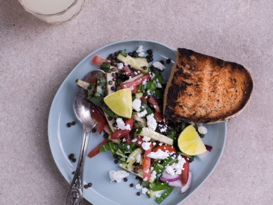 Beluga Linsen Salat |FREE MINDED FOLKS