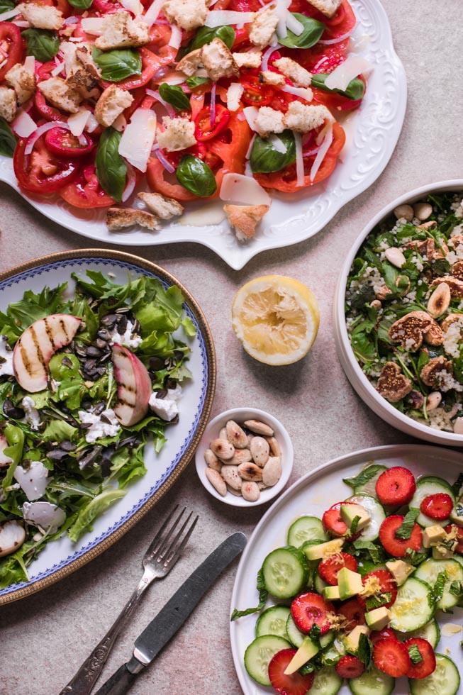 Sommersalat Rezepte |FREE MINDED FOLKS
