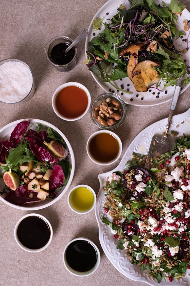Salatdressing: 4 kreative Rezepte für Herbstsalate |FREE MINDED FOLKS